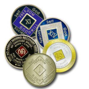 Tri-paint medallions