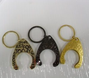 keyring holders for tri-paint and bronze medallions